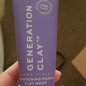 Other - Generation clay ultra violet clay mask